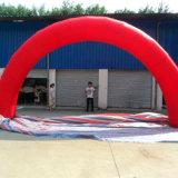 Красный надувные арки с логотипы для рекламы