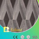Suelo resistente V-Grooved de Laminbated de agua de la textura comercial de la viruta