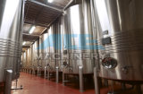 Fermenteur conique de bière de vin d'acier inoxydable de matériel de brasserie