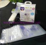 Levantarse la bolsa para el almacenaje de la leche materna, bolso del bloqueo del cierre relámpago