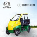 電池式60V 3乗客のリゾートのための小型ゴルフカート