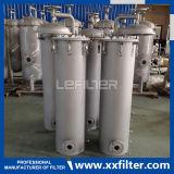 Custodia di filtro sanitaria industriale della cartuccia dell'acqua dell'acciaio inossidabile