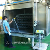 Connector를 위한 정전기 Powder Coating Line