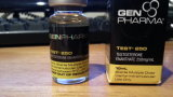 O tubo de ensaio farmacêutico diferente do holograma da venda quente etiqueta 10ml