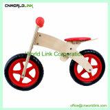 Carrinho de madeira brinquedo divertido do lado de madeira Vagão crianças push-pull