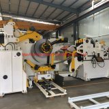 3 en 1 presse mécanique automatique de l'alimentation Servo Uncoiler nc chargeur de bobine de la machine Decoiler lisseur Niveleuse de convoyeur de la machine pour les pièces automobiles