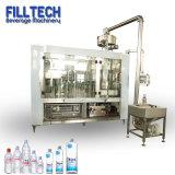 3 en 1 automático de llenado de botellas de agua de bebida de equipos de embalaje