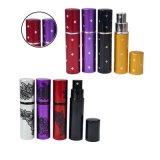 10ml mini portables rechargeables bouteille De Parfum Vaporisateur aluminium Al l'atomizer Flacon de parfum vide
