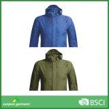 Revestimentos mornos do inverno do Sportswear do Windbreaker da roupa dos homens novos da forma