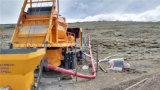 Camión bomba de alta eficiencia Montada mezclador concreto para la venta