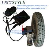 Motor sin cepillo del eje del sillón de ruedas de la C.C. con la palanca de mando del regulador y del sillón de ruedas