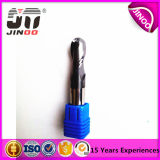 CNC Cutting Tool Solid Carbide Ball End Mill para aço