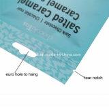 200g 500g 1kg imprimió el grado del bolso de la sal que el bolso plástico Customed del alimento coloca el bolso para arriba de empaquetado