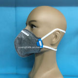 5 PP de la capa de carbón activo Máscara Securiy plegada