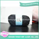 Tecelagem Patterns bebê camisola cinzenta 100% pura lã fios de caxemira