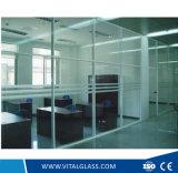 Vidrio de flotador del claro de la alta calidad 2mm-19m m para el edificio