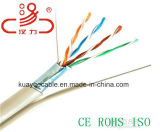 Câble d'ordinateur de câble du câble UTP de transmission de réseau du câble LAN Ftpcat5e/Cable