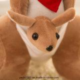 Canguro suave del juguete del animal relleno