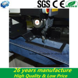 Placa pequena automática para máquinas de costura computadorizadas para calças de ganga