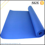 Couvre-tapis neuf de yoga du modèle NBR avec la courroie de transport commodément