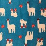 100%Cotton 호주 뉴질랜드 캐나다와 미국을%s Flannel에 의하여 인쇄되는 직물 면 직물