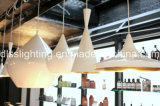 Iluminación colgante de aluminio moderna de la decoración del Ce de la capucha/de la lámpara del cUL