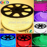 ETL 110V/120V/220V 60LED/M Piscina Cuttable tira flexible de LED RGB Lighting