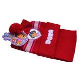 귀여운 아이들 Earflap 뜨개질을 하는 모자 (JRK090)