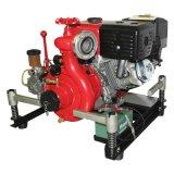 Pompe à eau de lutte contre l'incendie portative 13HP