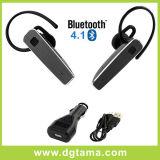 車の充電器およびUSBの充電器ケーブルが付いているBluetooth4.1イヤホーンのヘッドセット