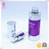 Neue Luxuxzylinder-Lotion-Flasche für Haut-Sorgfalt