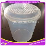 Injeção de plástico PP Transparente Molde de balde de armazenamento 10L