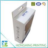 Caixa desobstruída impressa costume do Livro Branco do indicador