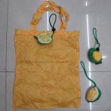 Bolso promocional de la fruta plegable de la manera con la bolsa 3D
