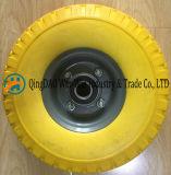 Roda resistente da espuma do plutônio para o carro da mão
