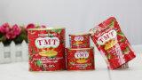 70 G Gino Marca Colar duplo concentrado de tomate enlatados da China Factory