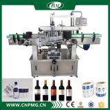 Máquina adesiva de Labellor da etiqueta de duas cabeças das etiquetas para frascos