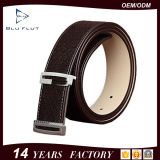 35mmの完全な穀物の革靴のベルトの留め金の普段着の革人ベルト