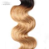 Cabelo do brasileiro da extensão do cabelo humano do cabelo do Virgin do vison de Guangzhou da forma