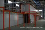 Puder-Beschichtung-Zeile für Aluminiumkühler mit guter Qualität