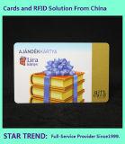 Cartão de poupança de plástico para cliente com fita magnética (ISO 7811)