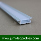 Espulsioni dei canali di profili dell'alluminio del LED per illuminazione del nastro della striscia del LED