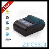 Zkc 5804 58mm 소형 소형 Bluetooth 음식 Qr 부호 영수증 열 인쇄 기계