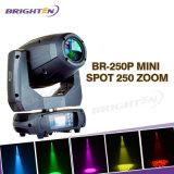 Mini250w LED Punkt-bewegliche Hauptstadiums-Beleuchtung (BR-250P)