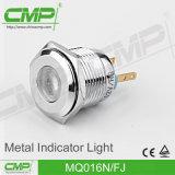 indicatore luminoso di indicatore di 16mm LED con una garanzia da 5 anni