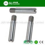 Vis sans tête réglée encochée DIN427 d'acier inoxydable de SS304 SS316 Ss321