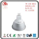 에너지 별 12V AC/DC MR16 LED 전구 7W 630lm MR16 LED 전구 Dimmable