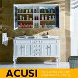 Het Amerikaanse Moderne Kabinet van de Ijdelheid van de Badkamers van het Eiken Hout van de Stijl (ACS1-W03)