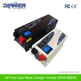 نقية شرط لموجة العاكس شاحن 1000W 8000W ~ DC12 / 24 / 48V إلى AC110 / 220V