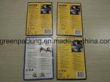 Imballaggio specifico del panno di pulizia di Microfiber con la scheda di carta nella scheda della bolla